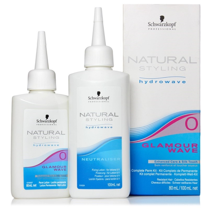 PERMANTE GLAMOUR KIT NATURAL STYLING...