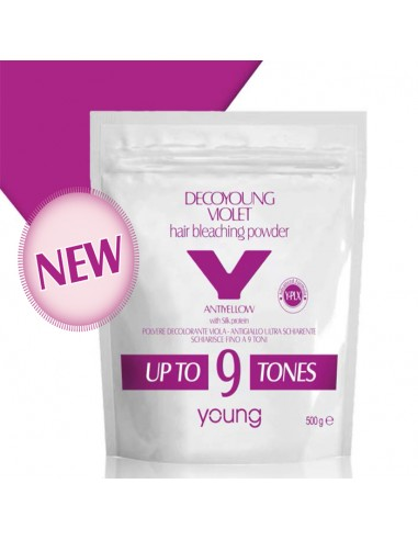 Decoloración 9 tonos 500 gr Young