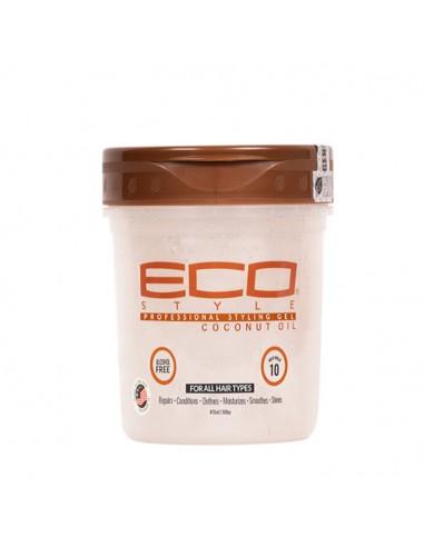 Gel Styling Coconut Oil 473 ml Eco...