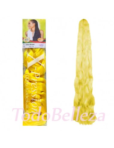 Extensiones de Fibra Kanekalon Yellow...