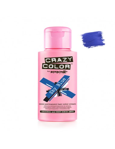 Tinte Semipermanente Azul Sky Blue Nº...